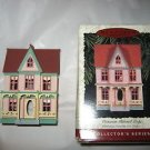 Hallmark 1996 Victorian Painted Lady House Ornament w/box