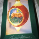 Hallmark Sugarplum Dreams lighted Ornament NIB w/tag