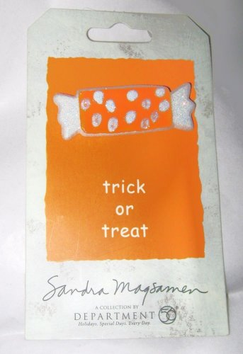 Dept 56 Trick or Treat Sandra Magsamen Halloween Candy Boo Pin 2005