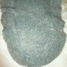 """Gap heather gray fuzzy acrylic knit wavy edge long scarf approx 68"""" x 13"""""""