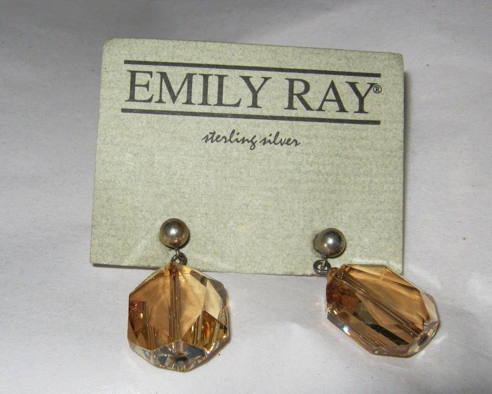 Emily Ray Crystal Star Earrings 71