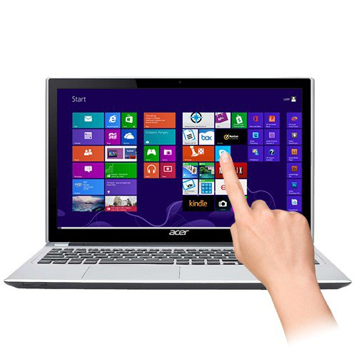 Acer Aspire V5-122P-0889 Touchscreen Fusion Dual-Core A4-1250 1.0GHz 4GB 500GB 11.6""