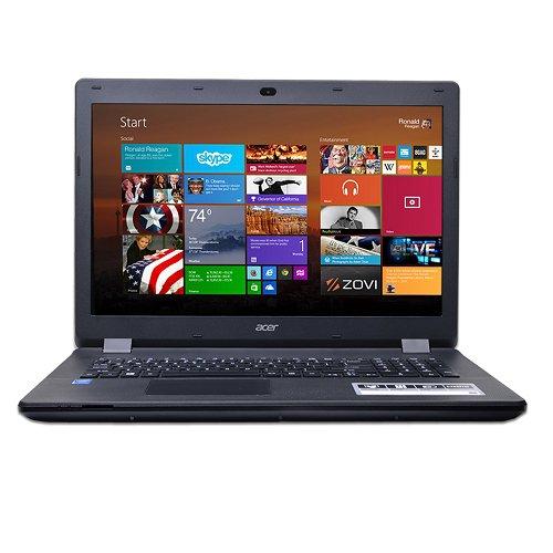 """Acer Aspire ES1-711-P1UV Pentium N3540 Quad-Core 2.16GHz 4GB 500GB DVD±RW 17.3"""""""