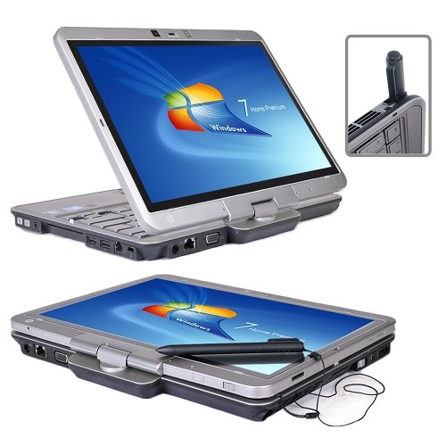 "HP Elitebook 2740p Core i5-540M Dual-Core 2.53GHz 4GB 80GB SSD 12.1"" LED Tablet & Notebook"