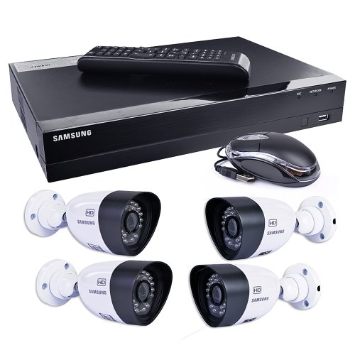 Samsung SDH-B3040 4-Ch 1TB 720p HD DVR Video Security System