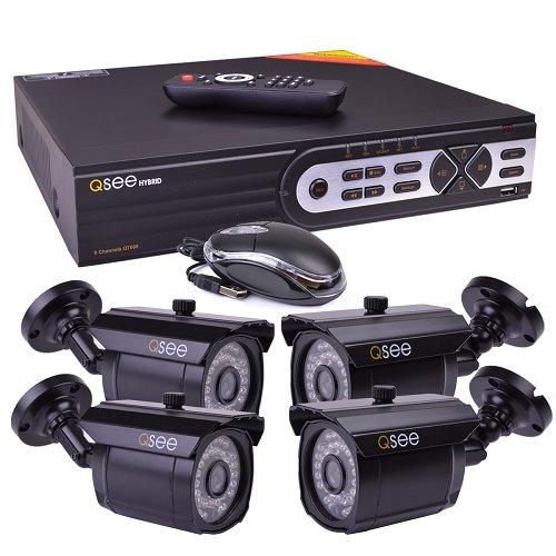 Q-See QT608-4F5-1 8-Channel 1TB Hybrid DVR Surveillance System