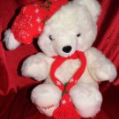 "10TH ANNIVERSARY LTD ED 20"" SNOWFLAKE CHRISTMAS TEDDY BEAR"