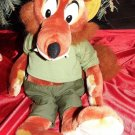 "SONG OF THE SOUTH 21"" BRER FOX PLUSH"