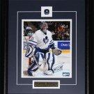 Curtis Joseph Toronto Maple Leafs signed 8x10 frame