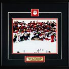 Team Canada 2010 Men's Hockey Gold Medal 8x10 Frame