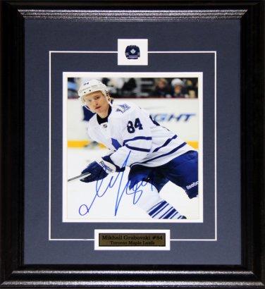 Mikhail Grabovski Toronto Maple Leafs signed 8x10 frame