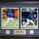 Jose Reyes Toronto Blue Jays signed 2 photo frame