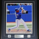 Edwin Encarnacion Toronto Blue Jays signed 16x20 frame
