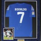 Cristiano Ronaldo Real Madrid signed jersey frame