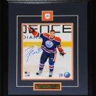 Taylor Hall Edmonton Oilers Signed 8x10 Frame