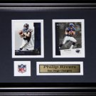 Phillip Rivers San Diego Chargers 2 card frame