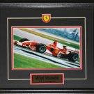 Michael Schumacher F1 8x10 frame