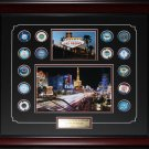Las Vegas Casino Chips Set frame