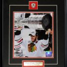 Jonathan Toews Chicago Blackhawks Stanley Cup 8x10 frame