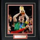 Iker Casillas 2010 Spain 8x10 Frame