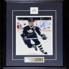Darryl Sittler Toronto Maple Leafs Signed 8x10 frame
