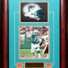 Dan Marino Miami Dolphins Signed Mini Helmet Frame