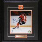Bobby Clarke Philadelphia Flyers Signed 8x10 frame