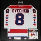 Alexander Ovechkin Washington Capitals Winter Classic Jersey frame