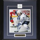 Wendel Clark Toronto Maple Leafs Signed 8x10 frame