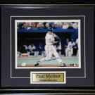Paul Molitor Toronto Blue Jays Signed 8x10 frame