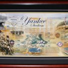 New York Yankees Historic Timeline Frame
