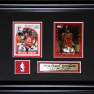 Michael Jordan Chicago Bulls 2 Card Frame