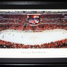 Chicago Blackhawks United Center Panorama Frame