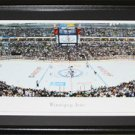 Winnipeg Jets MTS Centre Panorama Frame