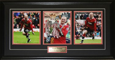 Wayne Rooney Machester United 3 photograph frame