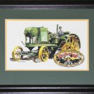 Tractor Trailer Waterloo Boy artist print frame