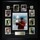 Tiger Woods 8x10 with cards frame