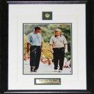 Tiger Woods & Jack Nicklaus Tiger & The Golden Bear 8x10 frame