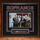 The Sopranos 8x10 cigar frame