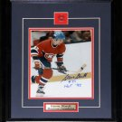Steve Shutt Montreal Canadiens Signed 8x10 frame