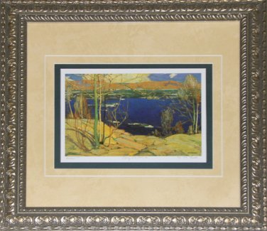 Spring Ice 1915-1916 Artist print frame