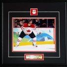 Sidney Crosby Team Canada Goal Yell 8x10 frame
