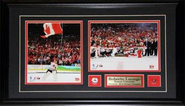 Roberto Luongo Team Canada 2010 Champions 2 photo frame