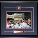 Ray Bourque & Patrick Roy Colorado Avalanche Stanley Cup 8x10 frame