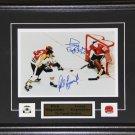 Phil Esposito & Tony Esposito Signed 8x10