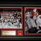Jonathan Toews Chicago Blackhawks Stanley Cup 2 photo Frame