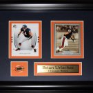 Brian Urlacher Chicago Bears 2 card frame