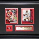 Alex Smith San Franciso 49ers 2 Card Frame