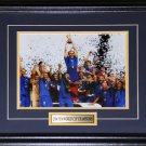 2006 Team Italy FIFA World Cup Champions 8x10 frame