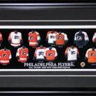 Philadelphia Flyers Jersey Evolution frame